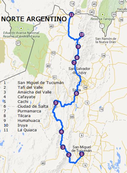Circuito Norte Argentino En Auto : Norte argentino prÓxima estaciÓn